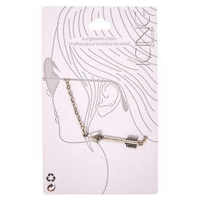 Silver Arrow Sunglasses Chain,