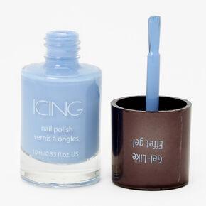 Gel-Like Nail Polish - Light Blue,