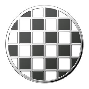 PopSockets Swappable PopGrip - Enamel Checkered,