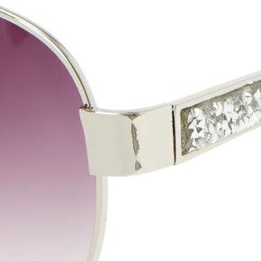 Stone Arm Aviator Sunglasses,