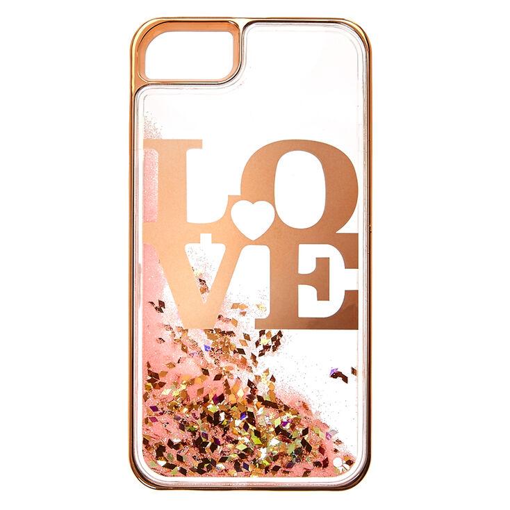 Love Liquid Filled Phone Case,