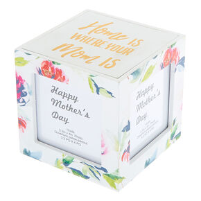 Home Is Where Your Mom Is Photo Frame Cube,