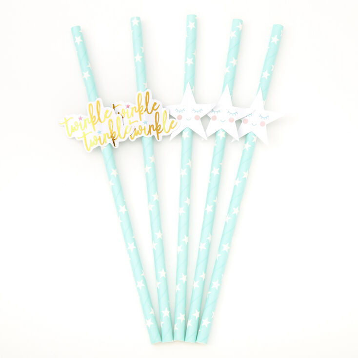 Twinkle Twinkle Party Straws - 5 Pack,