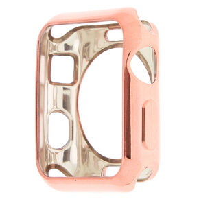 Rose Gold Smart Watch Bumper - Compatible With 38MM Apple Watch,