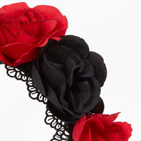 Day of the Dead Flower Crown Headband,