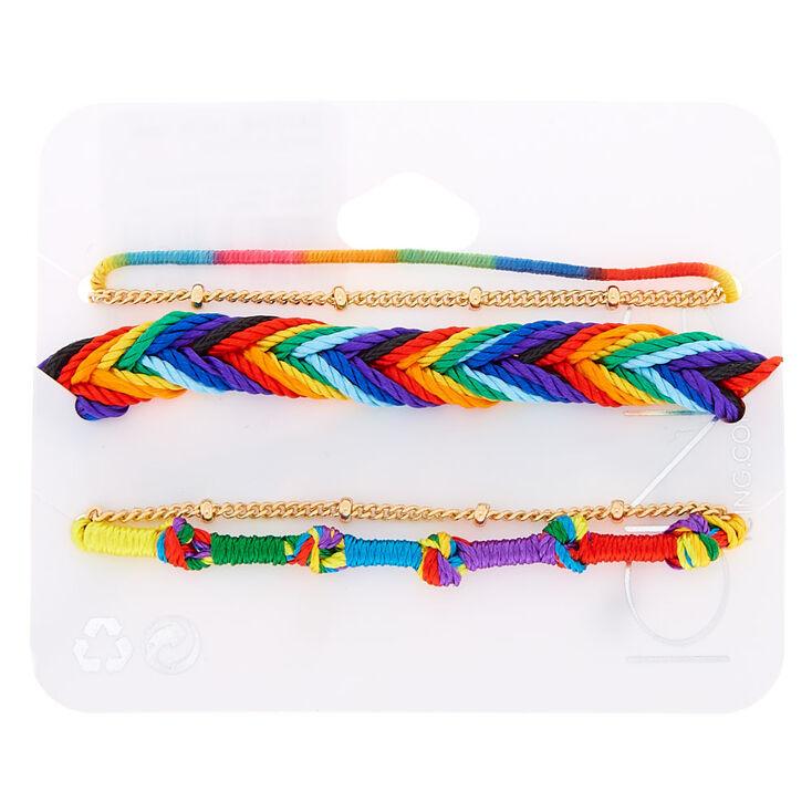 Rainbow Daze Bracelets - 5 Pack,