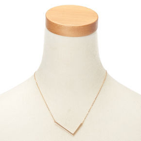Oversized Initial Pendant Necklace - L,