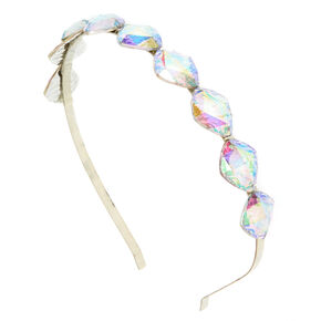 Iridescent Gem Headband,
