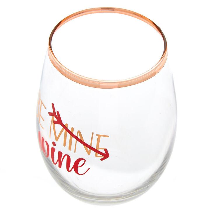 Be Wine Stemless Wine Glass,