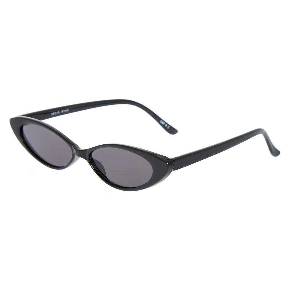 d7c2e772ec Slim Cat Eye Sunglasses - Black