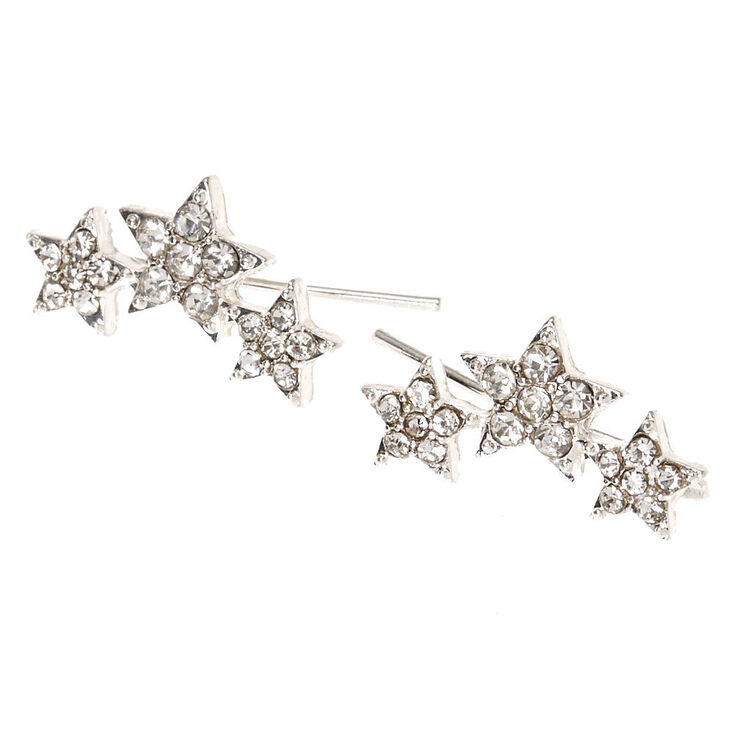 Crystal Star Trio Ear Crawlers,