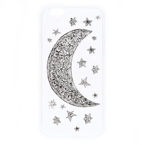 Clear Moon & Stars Phone Case - Fits iPhone 6/6S,