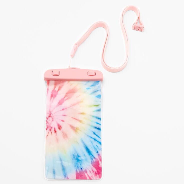 Pastel Tie Dye Waterproof Pouch,
