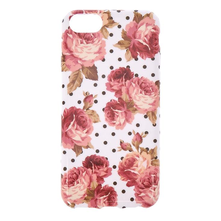 Floral & Polka Dot Phone Case,