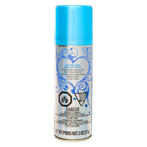 Temporary Iridescent Body Color Spray - Electric Blue,