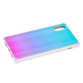 Holographic Square Phone Case - Fits iPhone X/XS,