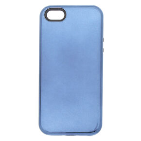 Metallic Navy Protective Phone Case - Blue,