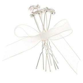 Clover Knot Hair Pins,