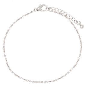 Silver Chain Bracelet,