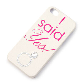 I Said Yes Phone Case - Fits iPhone 5/5S/SE,