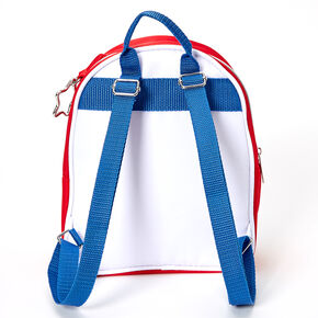 USA Color Block Small Backpack,