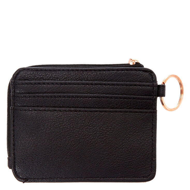 Marble Coin Purse - Black,