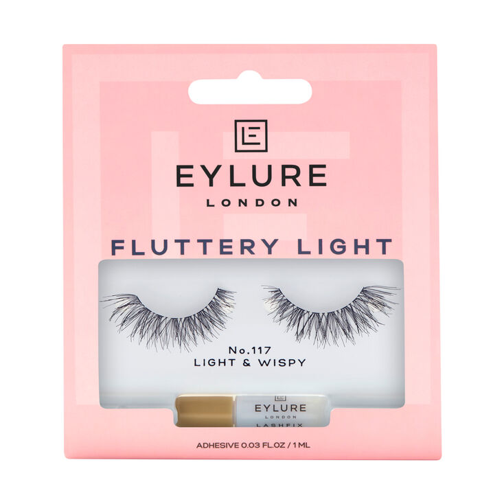 Eylure Fluttery Light No. 117  False Lashes,
