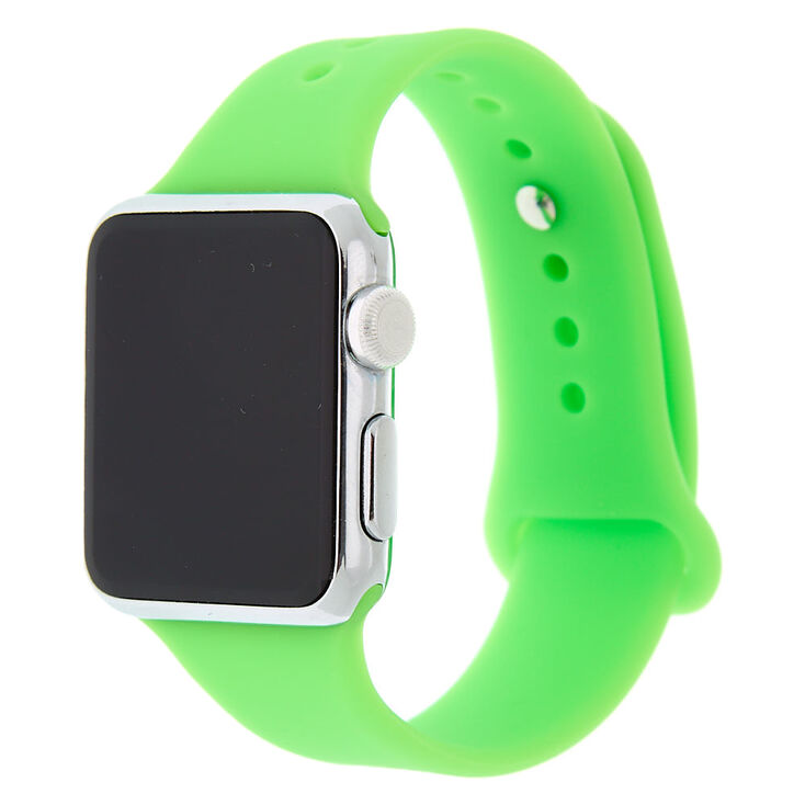 Neon Green Smart Watch Band - Fits 38MM/40MM Apple Watch,