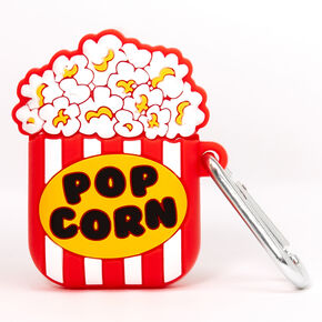Popcorn Silicone Earbud Case Cover - Compatible With Apple AirPods,