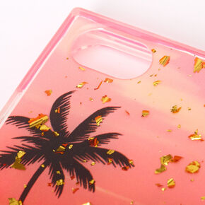 Palm Tree Sunset Rectangle Phone Case - Fits iPhone 6/7/8,