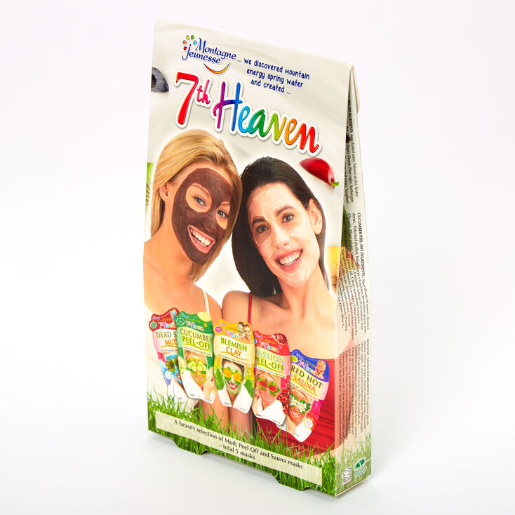 7th Heaven Peel Off & Sauna Masks - 5 Pack,