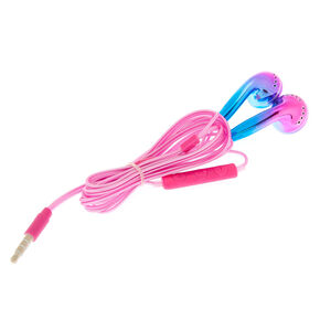 Ombre Earbuds with Mic - Pink,