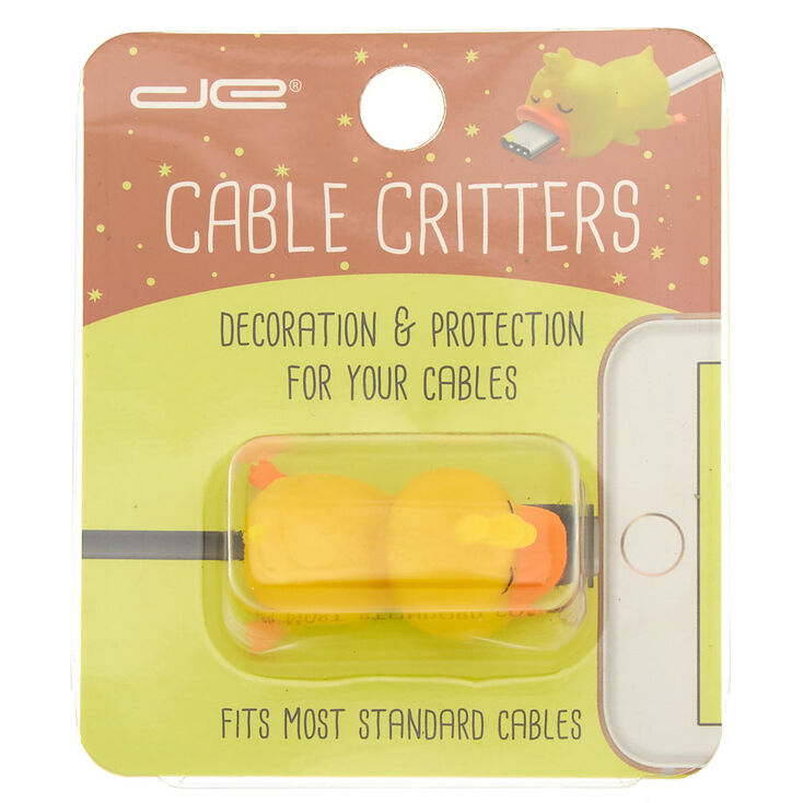 Duck Cable Critter - Yellow,