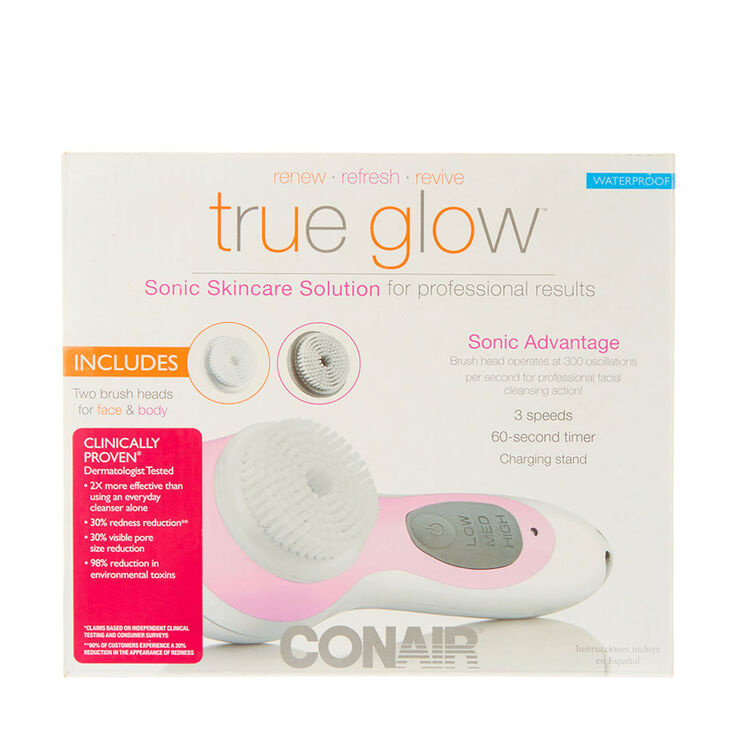 True Glow™ Sonic Skincare Solution,
