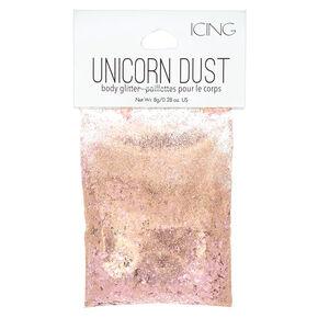 Unicorn Dust Body Glitter - Rose Gold,