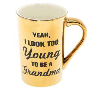 Young Grandma Ceramic Mug,