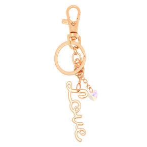 Love Charm Keychain,