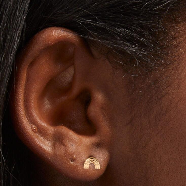 Snakeskin Crossbody Bag - Gold,