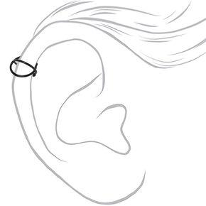 Mixed Metal Criss Cross Ear Cuff - 3 Pack,