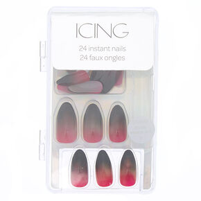 Ombre Stiletto Faux Nails - 24 Pack,
