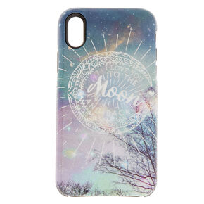 I Love You to The Moon & Back Phone Case  - Fits iPhone X/XS,
