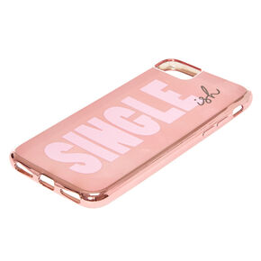 Rose Gold-Tone Single-ish Phone Case,