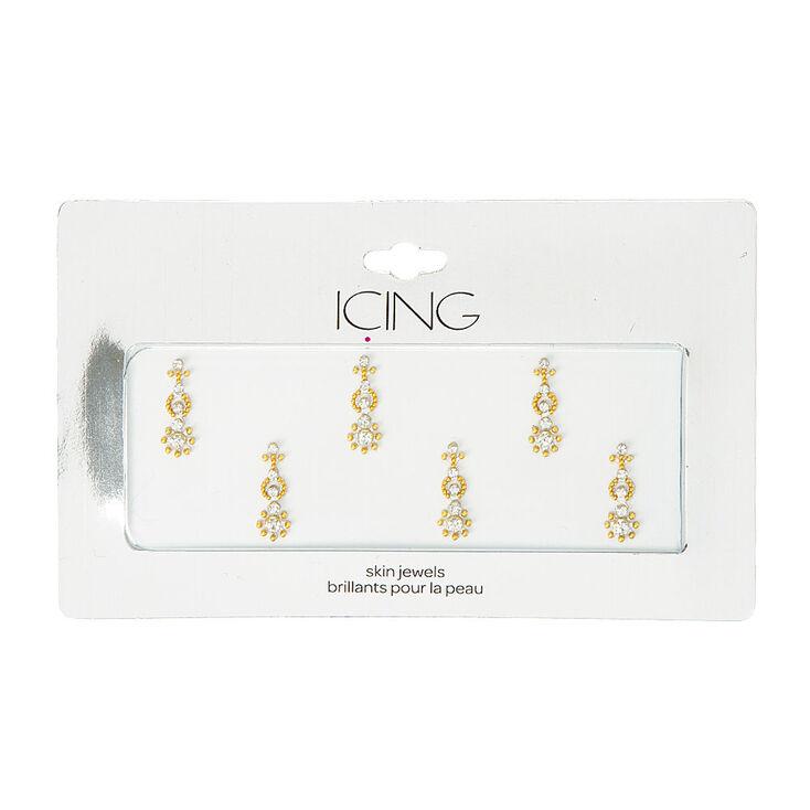 Gold Bindi Skin Jewels,