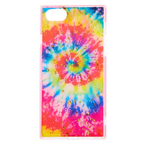 Square Rainbow Tie Dye Phone Case - Fits iPhone 6/7/8,