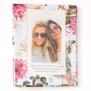 Floral Succulent Instax Photo Album,