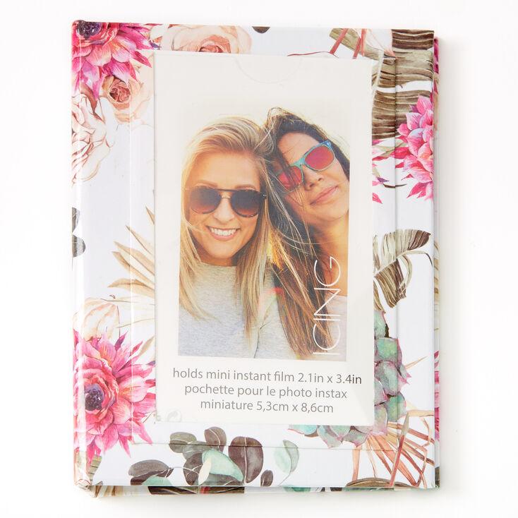 Floral Succulent Instax Photo Album,