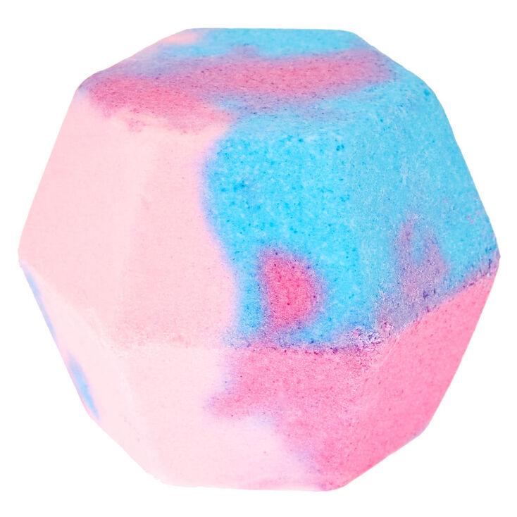 Lilac & Blue Stargaze Hexagon Bath Bomb,