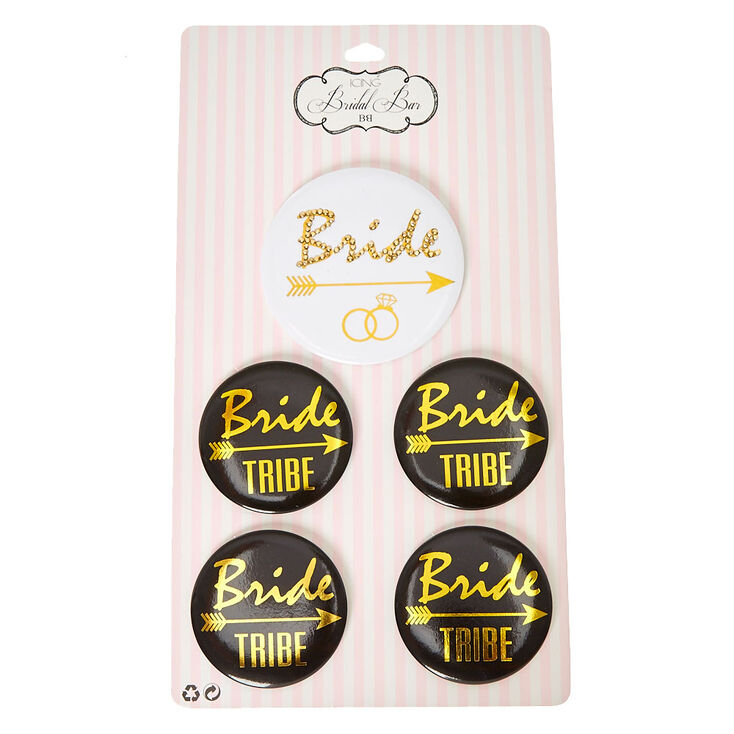 Bride + Tribe Bridal Buttons,