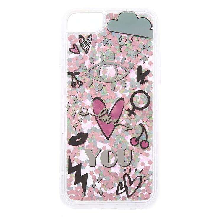 Shaky Confetti Phone Case - Fits iPhone 6/7/8 Plus,