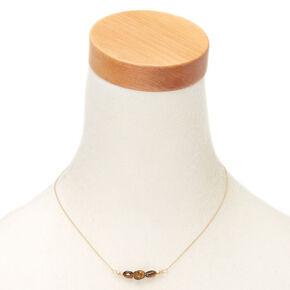 Tiger Eye Quartz Prosperity Pendant Necklace,